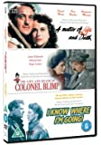 Classic Films Triple - The Life and Death of Colonel Blimp/A Matter of Life and Death/I Know Where I'm Going [Import anglais]
