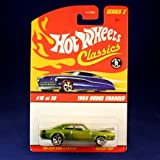 1969 DODGE CHARGER (GREEN) 2005 Hot Wheels Classics 1:64 Scale SERIES 2 Die Cast Vehicle