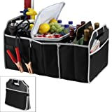 Shopomall Travel Trunk Organizer & Cooler Insulated Leak Proof Collapsible Car Boot