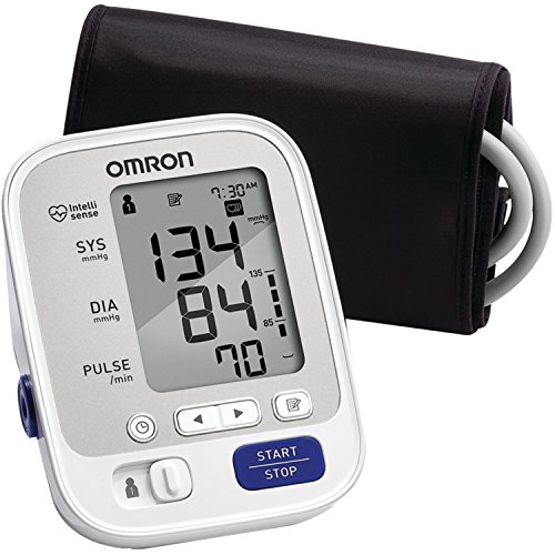 Omron 5 Series Upper Arm Blood Pressure Monitor with Cuff that fits Standard and Large Arms (BP742N) (Digital Blood Pressure Cuff compare prices)