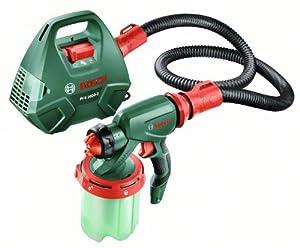 Bosch PFS 3000-2 HomeSeries Feinsprühsystem + 1000 ml Behälter (2 Düsen, 650 W, 300 ml/min)