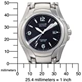 Citizen Men's BM6060-57F Eco-Drive 180 WR100 Titanium Bracelet Watch