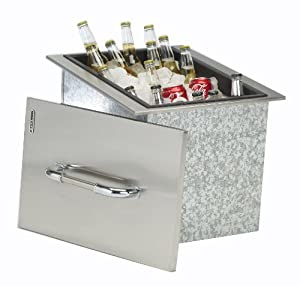 Bull outdoor products stainless steel drop in for Drop in cooler for outdoor kitchen
