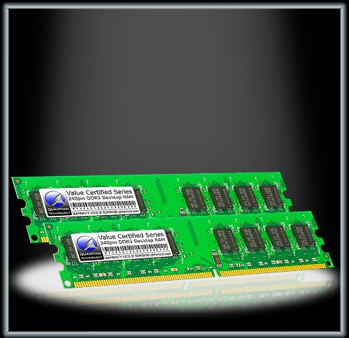 Quantum Technology Certified Spec 2GB 1GBx2 DDR3 PC3-10600 1333MHz RAM Honour DIMM Kit for Acer Aspire Z3101 Series AZ3101-xxx PW.SEU02.xxx