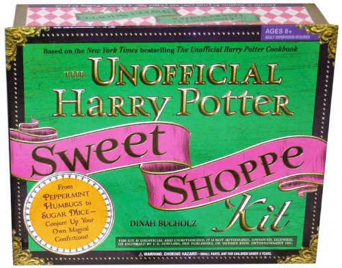 The Unofficial Harry Potter Sweet Shoppe Kit: From Peppermint Humbugs to Sugar Mice - Conjure Up Your Own Magical Confections