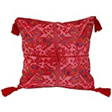 Laura Luna Textiles LL13A-220 Clochi Pillow, 20-Inch by 20-Inch