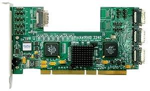 HighPoint RocketRAID 2240 16-Channel PCI-X SATA 3Gb/s RAID Controller
