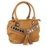 Kentworld Women's Handbag Beige OL77C