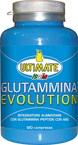 Ultimate Italia Glutammine Evolution Glutammina Peptide - 120 Compresse