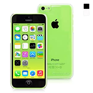 Snugg iPhone 5C Ultra Thin Case in Clear With Lifetime Guarantee - High Quality Slim Profile and Protective for Apple iPhone 5C