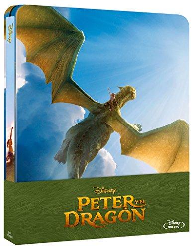 Steelbook Peter Y El Dragón: Live Action [Blu-ray]