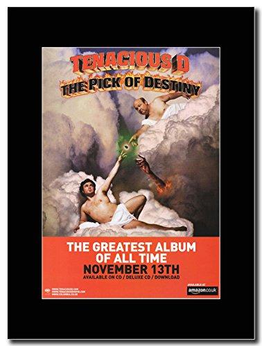 Tenacious D-The migliori Album di tutti i tempi il Pick Of Destiny Magazine Promo su un supporto, colore: nero