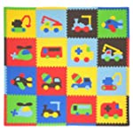 Tadpoles Playmat Set 16-Piece Transpo...