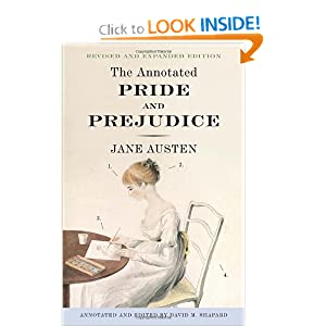 The Annotated Pride and Prejudice Jane Austen and David Shapard