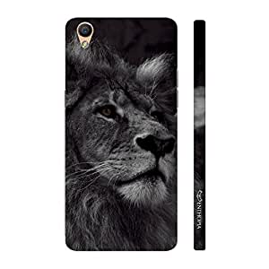 Enthopia Designer Hardshell Case King of The Jungle Back Cover for Oppo R9