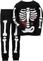 Carters Little Boys Glowing Skeleton Pajama Set