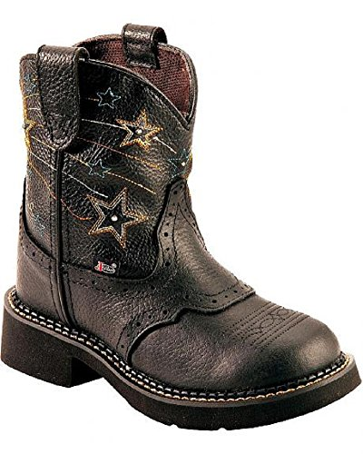 Justin-Boots-Girls-Gypsy-Light-Up-Boots-11-M-US-Little-Kid-Black