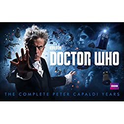 Doctor Who: The Complete Peter Capaldi Years [Blu-ray]