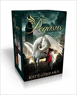 The Pegasus High-Flying Collection Books 1-4: The Flame of Olympus