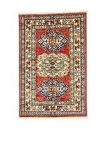 L'Eden del Tappeto Alfombra Kazak Super Multicolor 59 x 88 cm