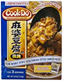 Ajinomoto Cookdo Mabo Tofu Mild Hot, 3.8-Ounce Units (Pack of 10)