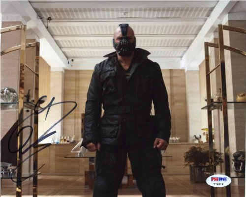 "Tom Hardy ""Dark Knight Rises"" Signed 8x10 Photo Certified Authentic PSA/DNA"