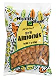 Health Best Almonds Whole Raw, 15-Ounce Packages (Pack of 2)