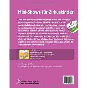 Mini-Shows für Zirkuskinder: 12 schnell umsetzbare Zirkus-Programme für die nächste Aufführung i