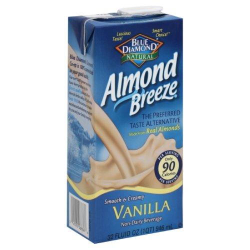 Blue Diamond Breeze Vanilla, 32-Ounces (Pack Of6)