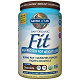 Garden of Life Organic Meal Replacement - Raw Organic Fit Vegan Nutritional Shake for Weight Loss, Chocolate, 32.5oz (2lbs / 922g) Powder