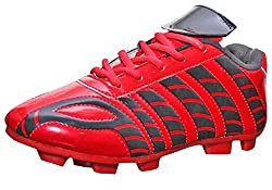 Port Dragon Red Football Shoes ( size 10 ind/uk)