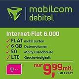 mobilcom-debitel Internet-Flat 6.000