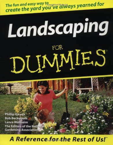 Landscaping for dummies hardware tools post hole diggers for Landscaping for dummies