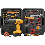 Work Expert Assorted 18V Drill Screwdriver Bit Set & Carry Case