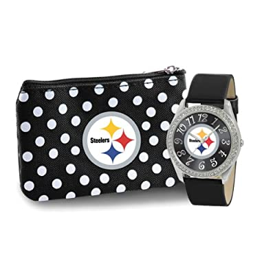 Pittsburgh Steelers Watch and Coin Purse
