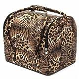 Professional Large Beauty Cosmetic Organizer Box Make Up Storage Hair Salon Travel Case Bag (#01)
