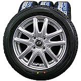 14インチ 4本セット スタッドレスタイヤ&ホイール DUNLOP(ダンロップ) WINTER MAXX 01(ウィンターマックス01) 155/65R14 BRANDLE M61