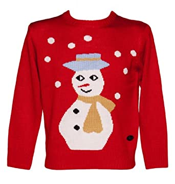 Unisex Sid Snowman Christmas Jumper from Crazy Granny Clothing