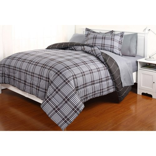 Boys Plaid Bedding 9584 front