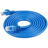 Generic Teraype 5 Meter Cat 6 Patch Cable (Pack Of 2, Blue)
