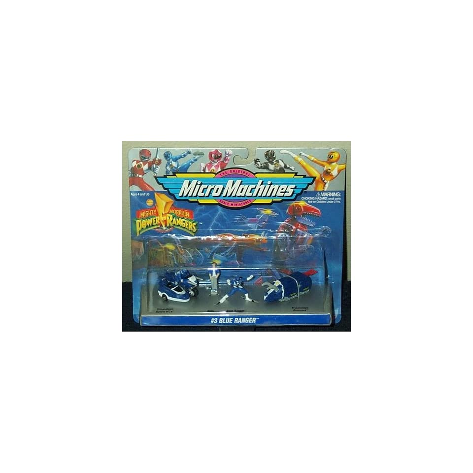 Mighty Morphin Power Rangers Black Ranger Micro Machines Collection #2