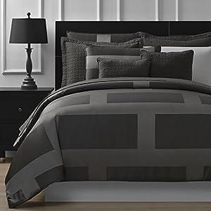 P&R Bedding Frame Jacquard Microfiber 5-Piece Comforter Set (King)