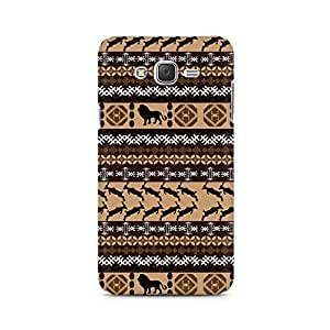 Ebby Tribal Lion Premium Printed Case For Samsung J1 Ace