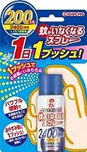 蚊がいなくなるスプレーB 200日 【HTRC2.1】