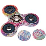 Baoblae New High Speed 3D Tri Hand Spinner Finger Spin For Anti Stress Desk Focus Toy # A