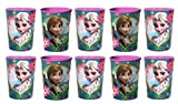 Disney Frozen 16 oz Plastic Cups - 10 PACK