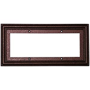 Standard frame for 3x6 ceramic tile house for House number frames
