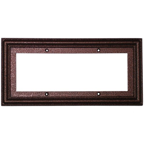 hammered copper standard frame 5 numbers for 3x6 ceramic