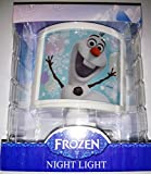 Disney Frozen Olaf Children's Night Light Room Decor Entrance Hallway Playroom Bathroom Kid's Bedroom