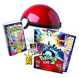 echange, troc Coffret Pokéball : VHS Pokémon le Film - Carte Collector exclusive - Carte magique - Porte-clés Pikachu - Tapis de jeu - Aff